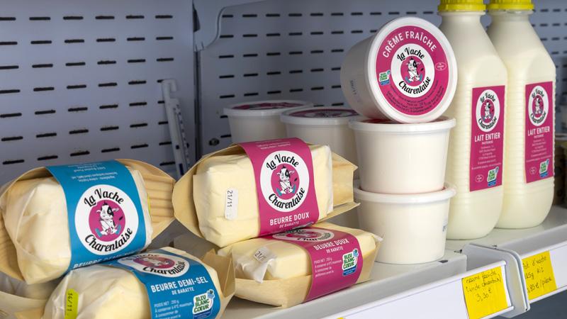 Epicerie Saint-Sauvant produits laitiers